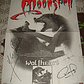 Moonspell - Other Collectable - Monnspell - Wolfheart signed Promotional Poster