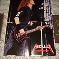 Metallica - Jason Newstead live photo from the Black Album era Poster