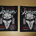 Venom - Seven Dates of Hell Tour Patches