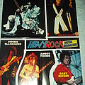 Guitarists posters from Heavy Rock Magazine Other Collectable