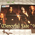 Mercyful Fate - Other Collectable - Mercyful Fate - 9 era Poster from Heavy Rock