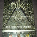 Nile - What Should Not Be Unearthed Promotional Poster