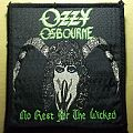 Ozzy Osbourne - No rest for the Wicked Patch