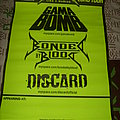Gamma Bomb - Other Collectable - Gamma Bomb , Bonded by Blood Discard Tour Poster