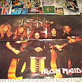 Iron Maiden - Blaze Bayley era promotional Poster from Metal Hammer