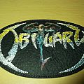 "Obituary - Patch - Obituary - ""The End Complete"" era logo patch"