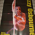 Ozzy Osbourne live photo Poster from Metal Hammer