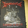 Immortal - Damned in Black Patch