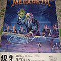 Megadeth - Other Collectable - Megadeth - Rust in Peace German show Poster