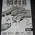 Sick Of It All - Other Collectable - Sick of it All - The Last act of Defiance Promotional Poster