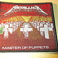 Metallica - Patch - Metallica - Master of Puppets Patch