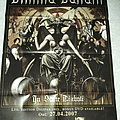 Dimmu Borgir - In sorte Diaboli promotion Poster Other Collectable