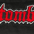 Entombed - red logo big Patch
