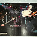 Emperor - Live photo Poster from Metal Hammer Mag. Other Collectable