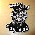 Motörhead - War Pig/England cut out Patch