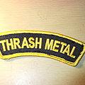 Thrash Metal logo Patch