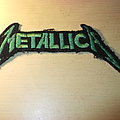 Metallica - Patch - Metallica - Green logo Patch