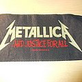 Metallica - Patch - Metallica - ...And Justice for All era Logo Patch