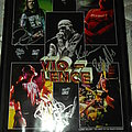 Vio-lence - poster fully signed by the whole band and framed along with 4 Guitar/Bass picks from the guys Other Collectable