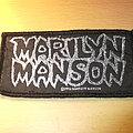 Marilyn Manson - Logo Patch