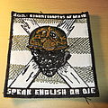 S.O.D. - Patch - S.O.D. - Speak English or Die Patch