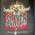 Slayer - Gas Mask Skull/Flag Logo Patch