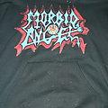 Morbid Angel - Hooded Top - Morbid Angel - Heretic era Logo Hoodie