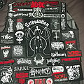 Tribulation - Battle Jacket - Possible layout for the back of my new vest.