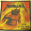 Metallica - Patch - Metallica - Jump in the Fire Patch