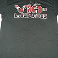Vio-lence - Opressing the Masses/Vio-lence logo T-shirt signed by Sean Killian