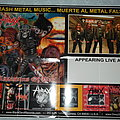 Hirax - promotional Poster Other Collectable