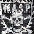 W.A.S.P. - Patch - W.A.S.P. - Skull & Logo Patch
