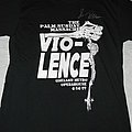 Vio-lence -  The Palm Sunday Massacre Oakland Metro House T-shirt signed by Sean Killian