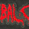Cannibal Corpse - Old Logo big Patch