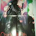 Cradle of Filth - Dani Filth Poster from Metal Hammer Other Collectable