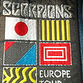 Scorpions - Europe Tour Patch