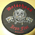 Motörhead - Iron Fist Patch