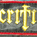 Sacrifice logo Patch