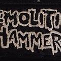 Demolition Hammer - Patch - Demolition Hammer - Logo Patch