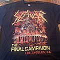 Slayer final night t shirt