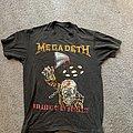 Megadeth - TShirt or Longsleeve - Megadeth Tour SS