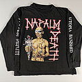 Napalm Death - TShirt or Longsleeve - Napalm Death Utopia Banished original 1992 tour longsleeve
