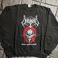 "Unleashed original ""never ending hate!"" 1990 tour sweatshirt"