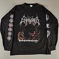 Enthroned - TShirt or Longsleeve - Enthroned  Towards the Skullthrone of Satan original longsleeve