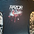 Razor violent restitution shirt