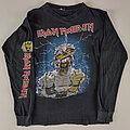 Iron Maiden - TShirt or Longsleeve - Iron Maiden original World Slavery 1984 longsleeve