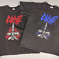Grave american and european tour shirts