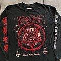 "Krisiun - TShirt or Longsleeve - Krisiun ""Black Force Domain"" original 1997 tour longsleeve"