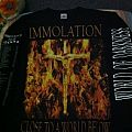 TShirt or Longsleeve - longsleve immolation close to below tour