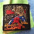 Iron maiden The númber of The beast vintage woven patch